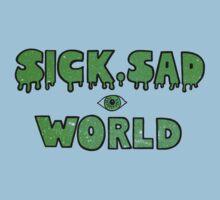 Sick, Sad World (Green glitter) Baby Tee