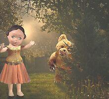 teddy bear scare by Rachel Linder