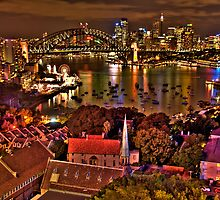 "*Fantasia"" - Uncut- Sydney Harbour And Skyline - Moods Of A City - THe HDR Experience by Philip Johnson"