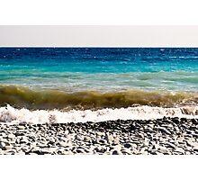 layer-cake-colors of the Mediterranean sea Photographic Print