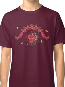 Heart with Roses 2 Classic T-Shirt