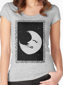 Inky Moon Women's Fitted Scoop T-Shirt