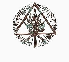 ANCIENT FIRE SYMBOL - aqua grunge Unisex T-Shirt