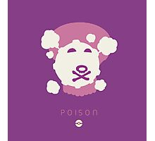 Pokemon Type - Poison Photographic Print