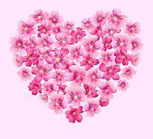 Heart flower1 by MrNicekat