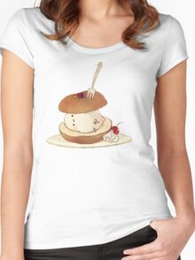 cute animal Women's Fitted Scoop T-Shirt