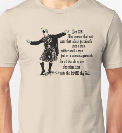 Och aye the Deu 22 Unisex T-Shirt