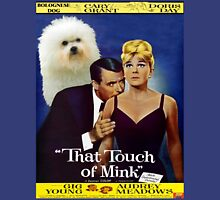 Bolognese Dog Art - That Touch of Mink Movie Poster Unisex T-Shirt