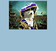Bolognese Art - Blue Pirate in Venice Womens Fitted T-Shirt