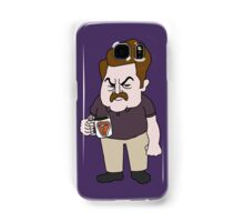 Ron Swanson Steak Mug Samsung Galaxy Case/Skin