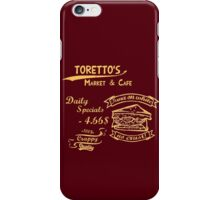 Furious - the beginning - Tuna on white, no crust iPhone Case/Skin