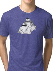 1953-1957 VW Oval Window Beetle - Just Chillin' Tri-blend T-Shirt