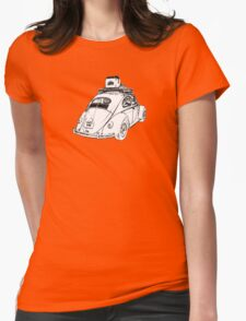 1953-1957 VW Oval Window Beetle - Just Chillin' Womens Fitted T-Shirt
