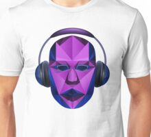 Head headphones Unisex T-Shirt