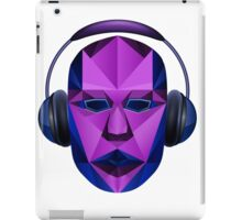 Head headphones iPad Case/Skin