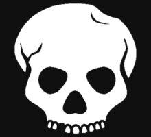 White Skull by xKr0wnx