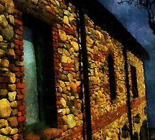 Moonlit Chateau by RC deWinter