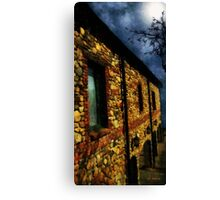 Moonlit Chateau Canvas Print
