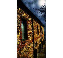 Moonlit Chateau Photographic Print