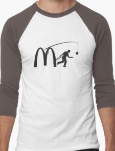 Corporation Slavery Men's Baseball ¾ T-Shirt