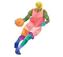 Basketball player1 Photographic Print