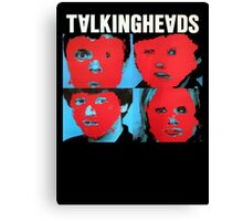 Talking Heads T-Shirt Canvas Print