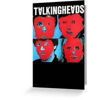 Talking Heads T-Shirt Greeting Card