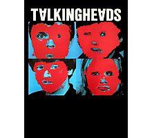 Talking Heads T-Shirt Photographic Print