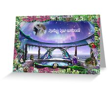 Your Attention Please. . . Spring Has Arrived! Greeting Card