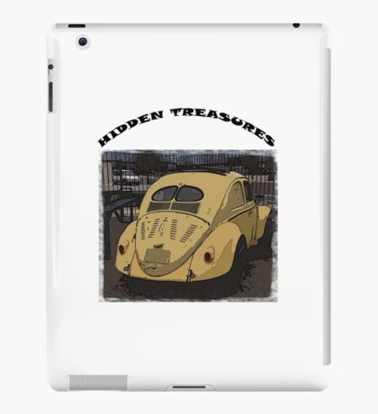 Split Window VW Beetle Ragtop - Hidden Treasures iPad Case/Skin