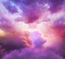 The Skies Are Painted (Cloud Galaxy) by soaringanchor