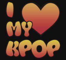 I LOVE MY KPOP - PURPLE Kids Tee