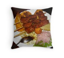 Anticuchos Throw Pillow