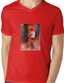 Love and Tango Mens V-Neck T-Shirt