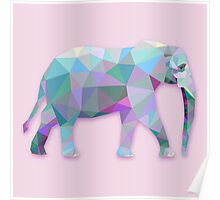 Elephant Animals Gift Poster