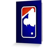 MLB Logo Greeting Card