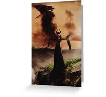Villain Ladies - Maleficent Greeting Card
