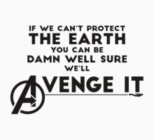 Avengers Will Avenge It.  by The Hutchinsons