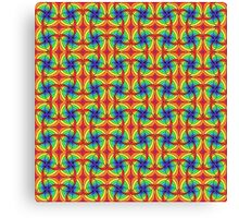 Groovy Tuesday Pattern Canvas Print