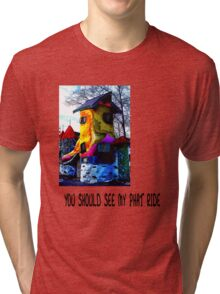 YOU SHOULD SEE MY PHAT RIDE Tri-blend T-Shirt