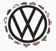 Aircooled VW - Circle of (Beetle) Life by Harrysdesigns