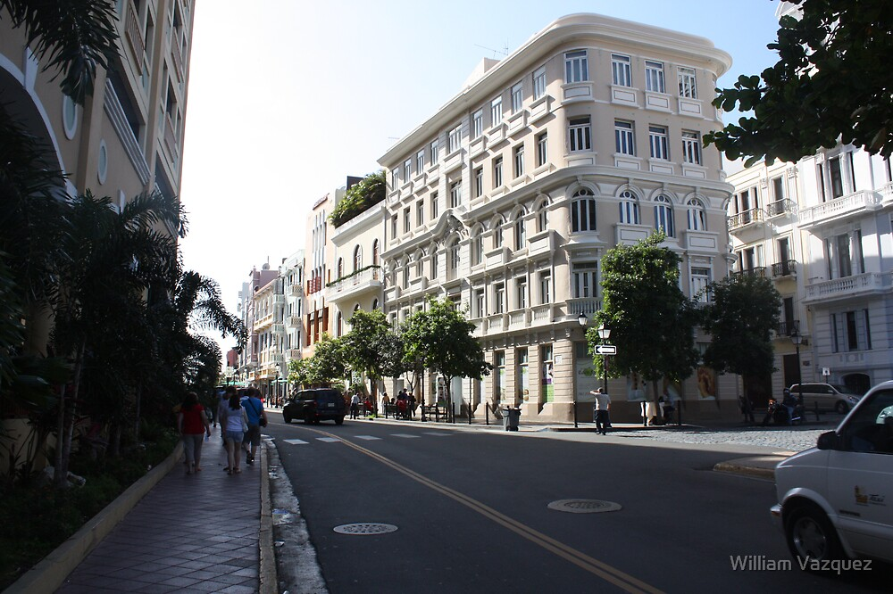 OLD SAN JUAN STREET by William Vazquez