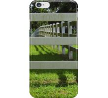 The Old Fence iPhone Case/Skin