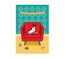 Home Sweet Home Rat Terrier Print Art Print
