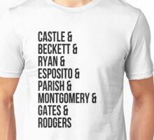 Castle Characters Unisex T-Shirt