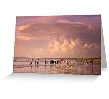 Kuta Beach - Bali, Indonesia Greeting Card