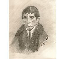 Barnabas Collins, Vampire from Dark Shadows Photographic Print