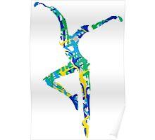 Dave Matthews Band Fire Dancer Pattern Poster