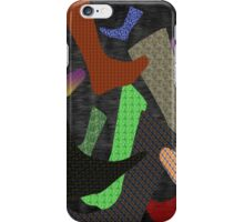 Socks Abstract iPhone Case/Skin