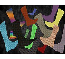 Socks Abstract Photographic Print